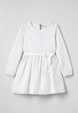 SIGNATURE DRESS - Cocktail dress / Party dress - white
