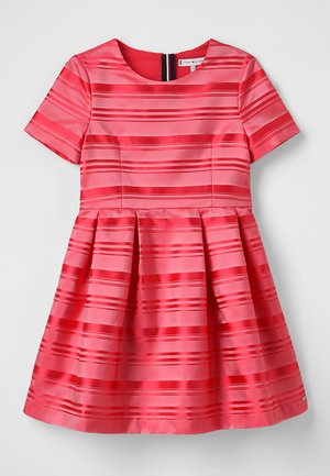 SIGNATURE STRIPE DRESS - Cocktail dress / Party dress - red