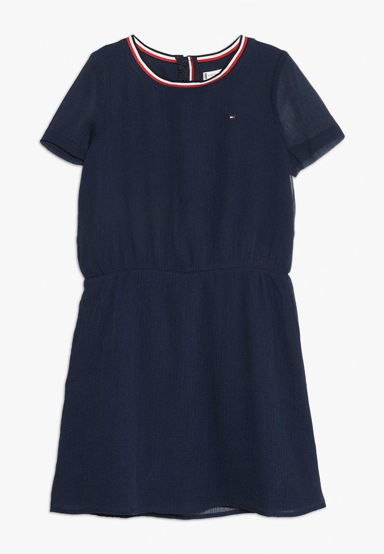 Tommy Hilfiger - ESSENTIAL SOLID SPORTY DRESS - Day dress - blue
