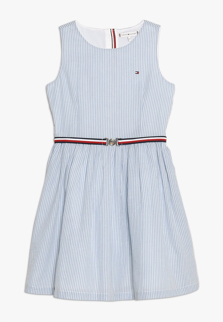Tommy Hilfiger - ENCHANTING STRIPE DRESS  - Cocktail dress / Party dress - white