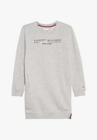 Tommy Hilfiger - CREW DRESS - Korte jurk - grey - 3