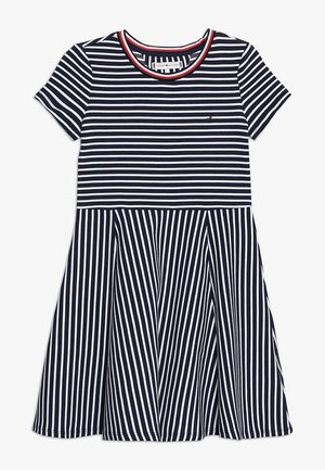 SKATER DRESS - Korte jurk - blue