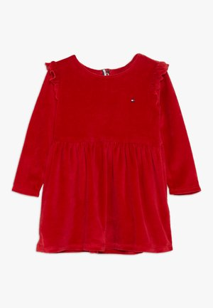 BABY GIRL SET - Day dress - apple red