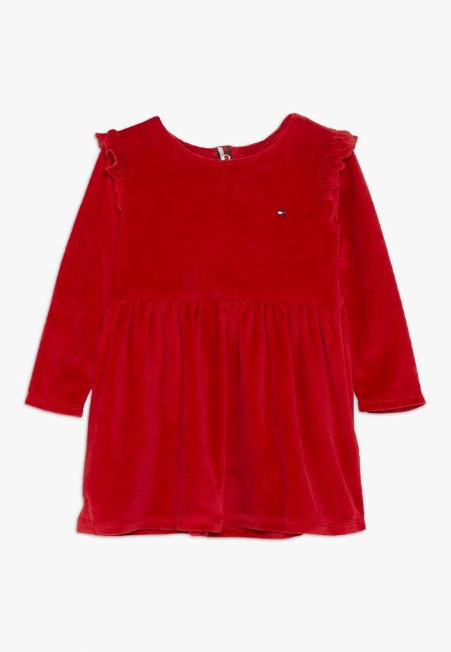 BABY GIRL SET - Day dress - apple red