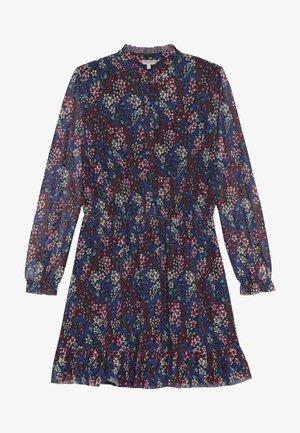 FLORAL ALL OVER PRINTED DRESS - Denní šaty - blue