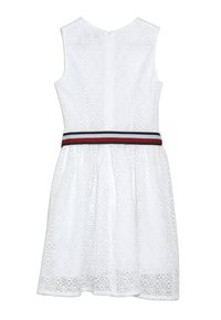 Tommy Hilfiger - STRIPE DRESS  - Cocktail dress / Party dress - white - 1