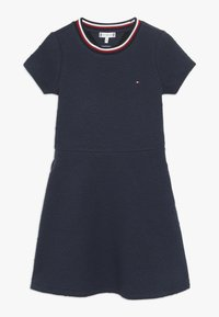 Tommy Hilfiger - SKATER DRESS - Jersey dress - blue - 0
