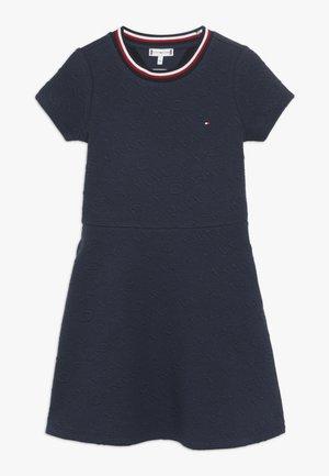 SKATER DRESS - Žerzejové šaty - blue