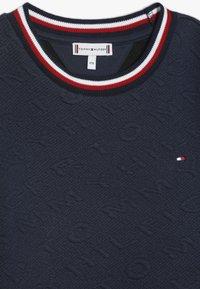 Tommy Hilfiger - SKATER DRESS - Jersey dress - blue - 4
