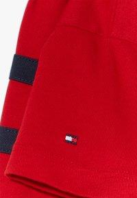 Tommy Hilfiger - FLAG DRESS  - Trikoomekko - red - 3