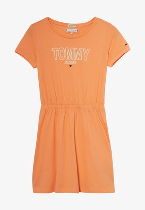 TEE DRESS  - Trikoomekko - orange