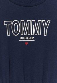 Tommy Hilfiger - TEE DRESS  - Žerzejové šaty - blue - 3