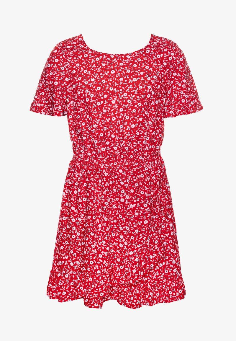 Tommy Hilfiger - FLORAL PRINT DRESS - Day dress - red