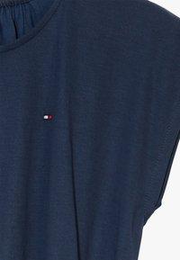 Tommy Hilfiger - SOLID BELTED DRESS - Jersey dress - blue - 2