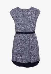 Tommy Hilfiger - DITSY FLOWER PRINT DRESS - Day dress - blue - 0