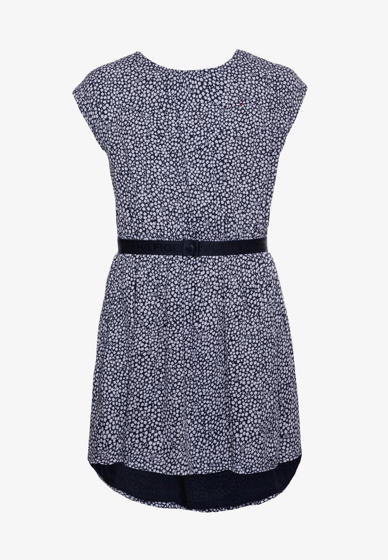 Tommy Hilfiger - DITSY FLOWER PRINT DRESS - Day dress - blue
