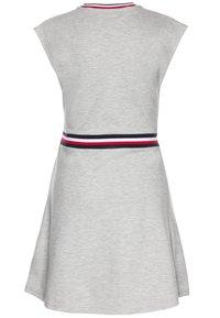 Tommy Hilfiger - ESSENTIAL SKATER DRESS  - Jersey dress - grey - 1