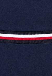Tommy Hilfiger - ESSENTIAL SKATER DRESS  - Jersey dress - blue - 2