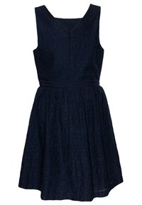 Tommy Hilfiger - BRODERIE ANGLAISE DRESS  - Cocktail dress / Party dress - blue - 1