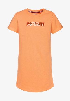 LABEL DRESS - Freizeitkleid - orange