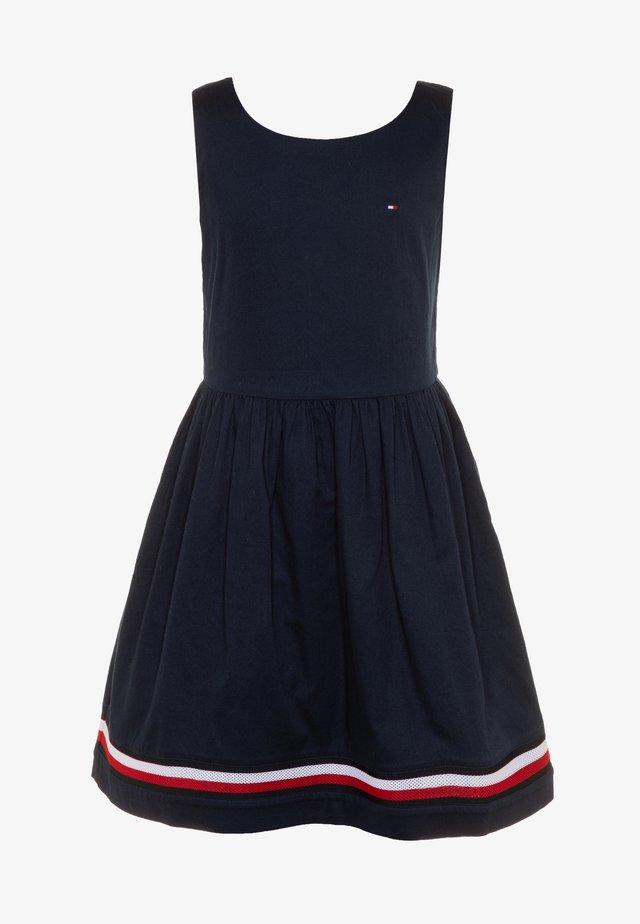 GLOBAL STRIPE TAPE DRESS  - Freizeitkleid - blue