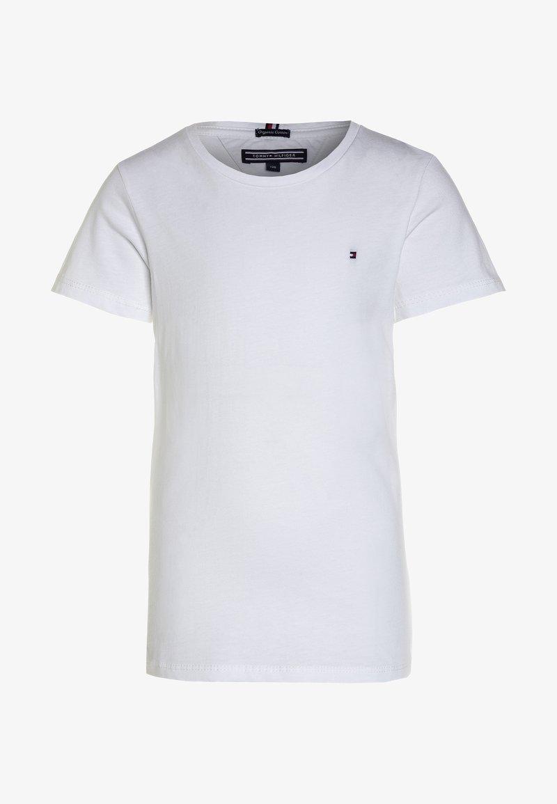 Tommy Hilfiger - GIRLS BASIC  - T-shirt - bas - bright white