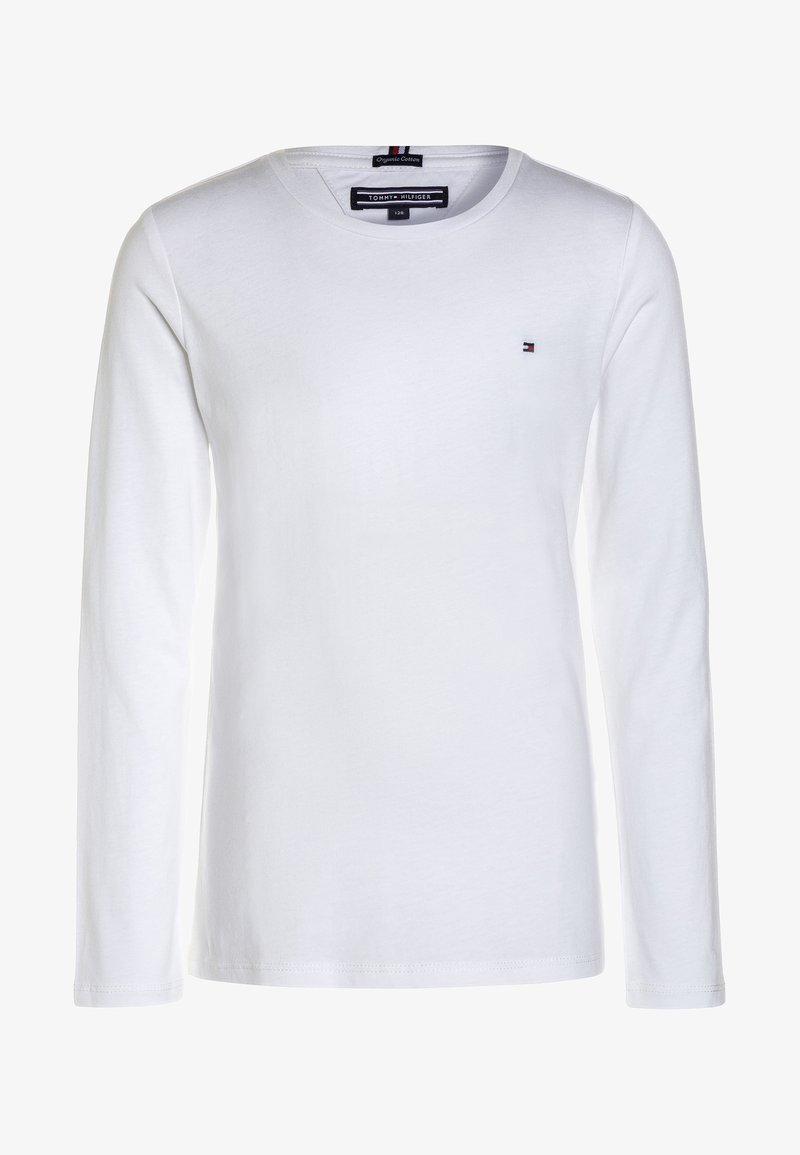 Tommy Hilfiger - GIRLS BASIC  - Long sleeved top - bright white