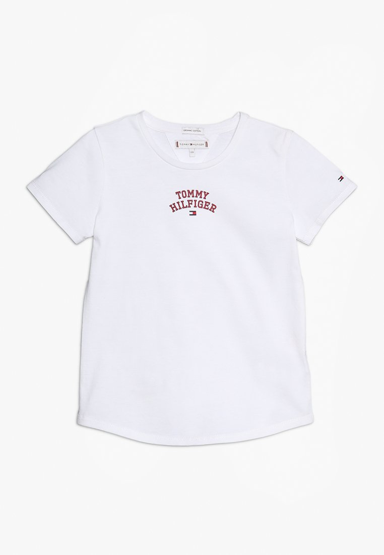 Tommy Hilfiger - ESSENTIAL NEW YORK TEE - T-shirt print - white