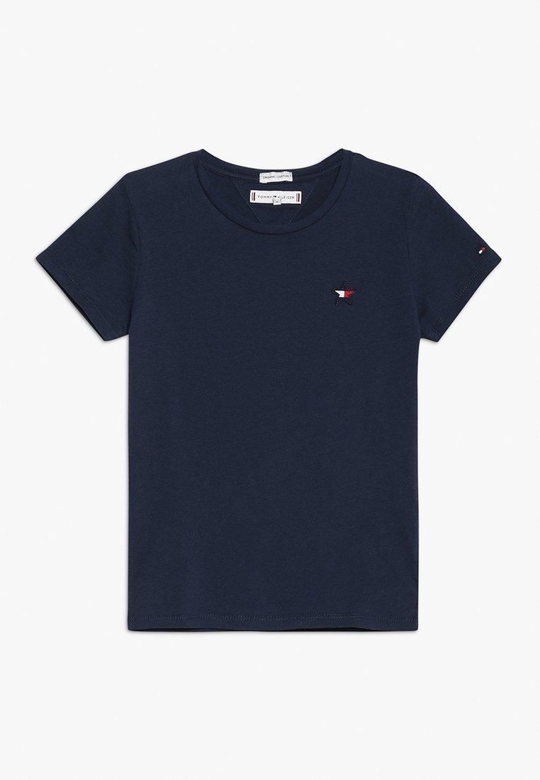 Tommy Hilfiger - STAR FLAG TEE - T-shirt imprimé - blue