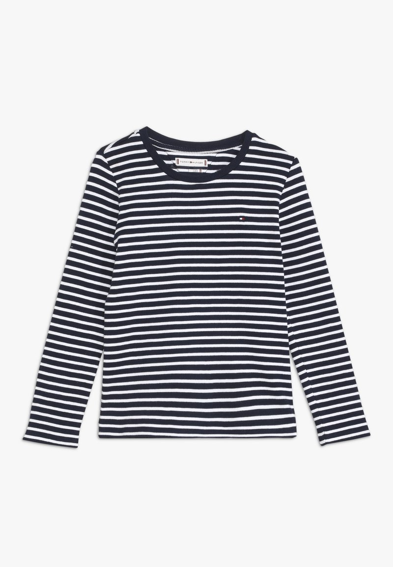 Tommy Hilfiger - ICONIC STRIPE TEE - T-shirt à manches longues - white
