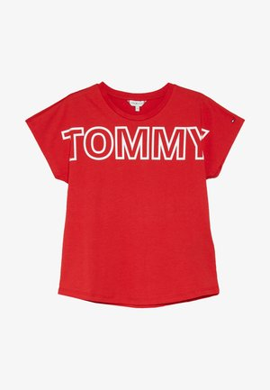 SPECIAL LOGO TEE  - T-shirt z nadrukiem - red