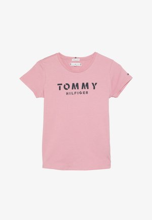 ESSENTIAL TEE - T-shirt med print - pink