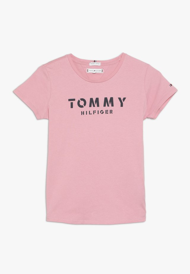 ESSENTIAL TEE - T-shirt print - pink