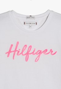 Tommy Hilfiger - TEE  - T-shirt print - white - 3