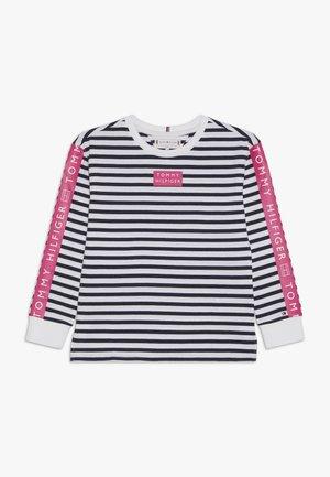 NAUTICAL STRIPE TEE - T-shirt à manches longues - blue