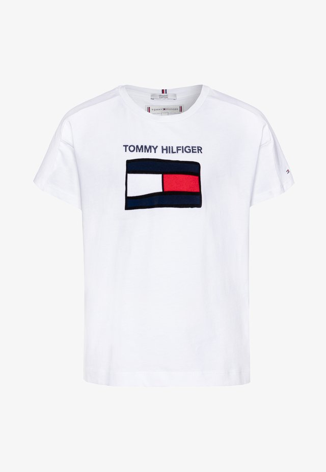 FUN GRAPHIC FLAG TEE  - Camiseta estampada - white