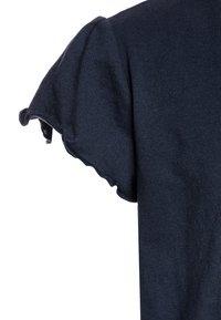 Tommy Hilfiger - ESSENTIAL RUFFLE SLEEVE  - Camiseta básica - blue - 2