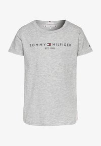 Tommy Hilfiger - ESSENTIAL TEE  - Printtipaita - grey - 0