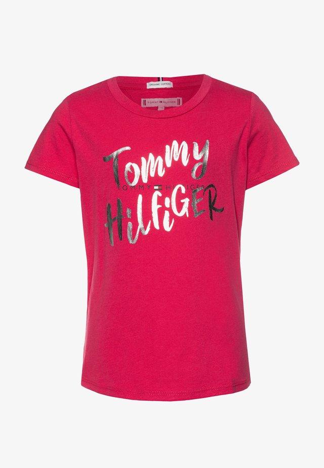 GRAPHIC ON TEE  - Camiseta estampada - pink
