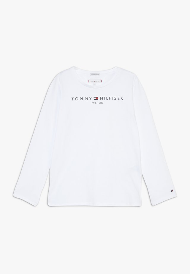 ESSENTIAL - Long sleeved top - white
