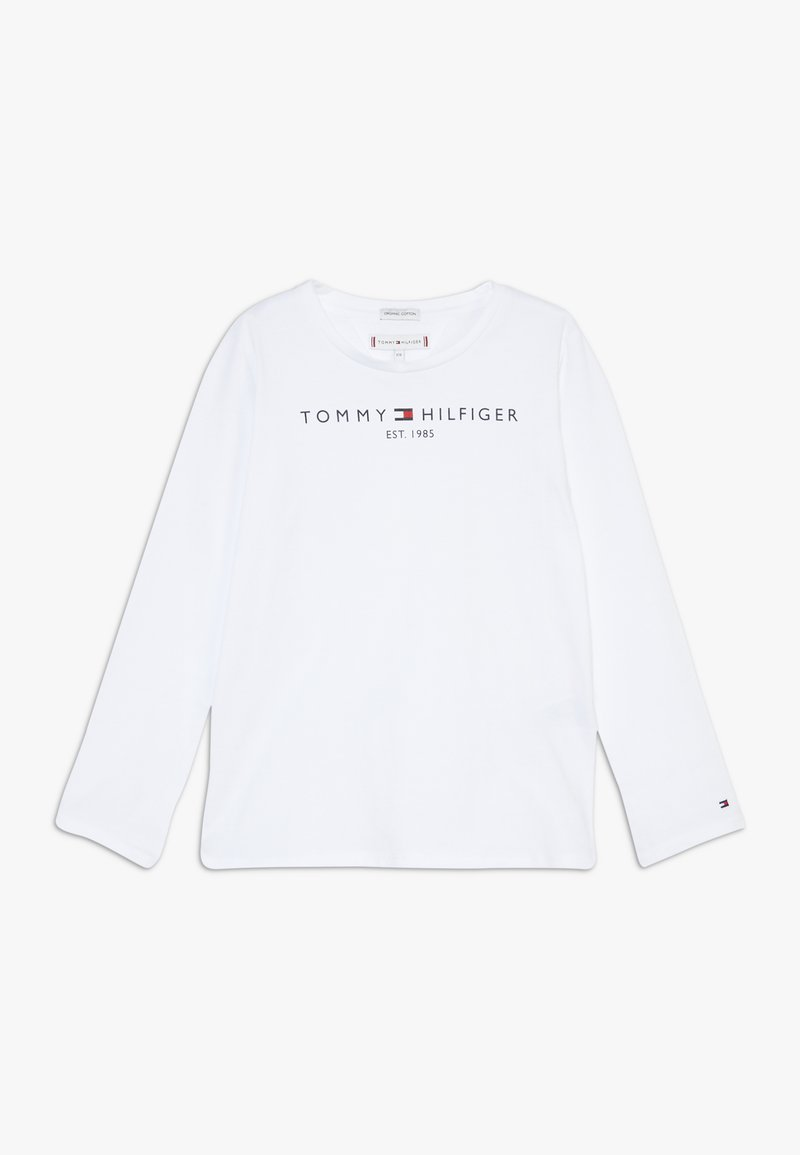 Tommy Hilfiger - ESSENTIAL - Top sdlouhým rukávem - white