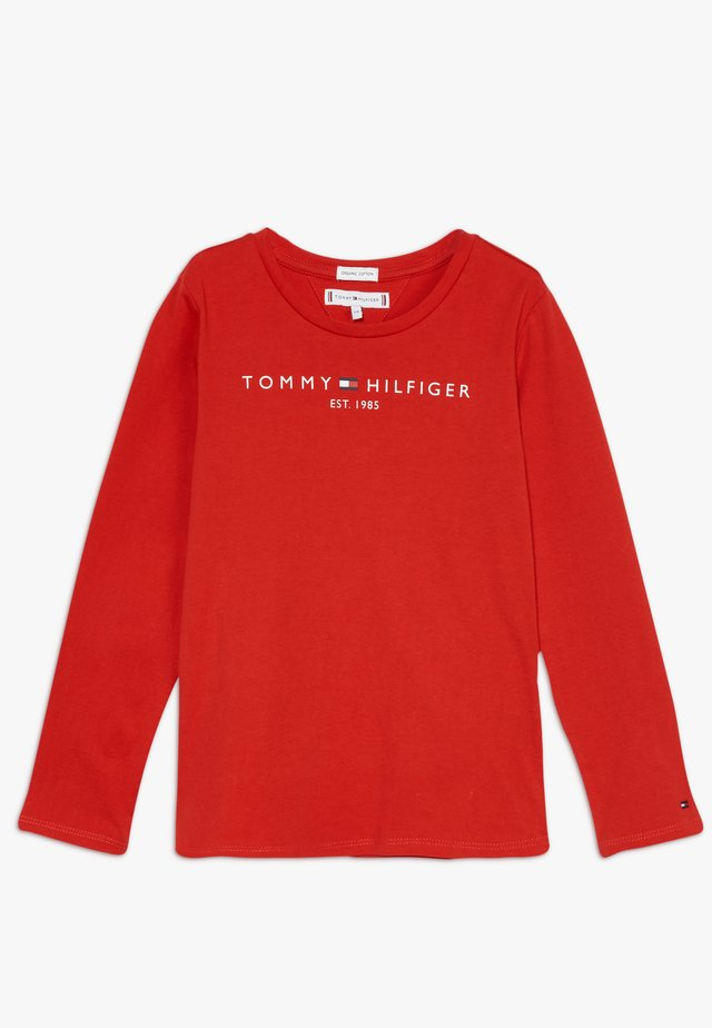 ESSENTIAL - Long sleeved top - red
