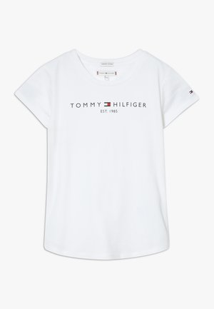 ESSENTIAL TEE - T-shirt con stampa - white