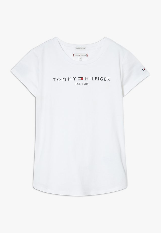 ESSENTIAL TEE - T-Shirt print - white