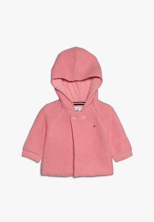 BABY RAGLAN CARDIGAN - Strickjacke - pink icing