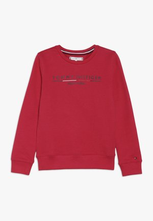 ESSENTIAL LOGO CREW  - Sweatshirt - red