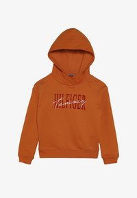 Tommy Hilfiger - ESSENTIAL GRAPHIC LOGO HOODIE - Sweat à capuche - orange - 3