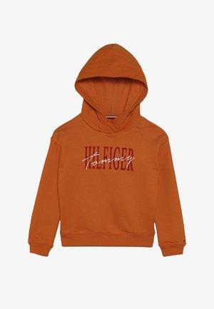 ESSENTIAL GRAPHIC LOGO HOODIE - Hoodie - orange