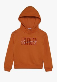 Tommy Hilfiger - ESSENTIAL GRAPHIC LOGO HOODIE - Sweat à capuche - orange - 0