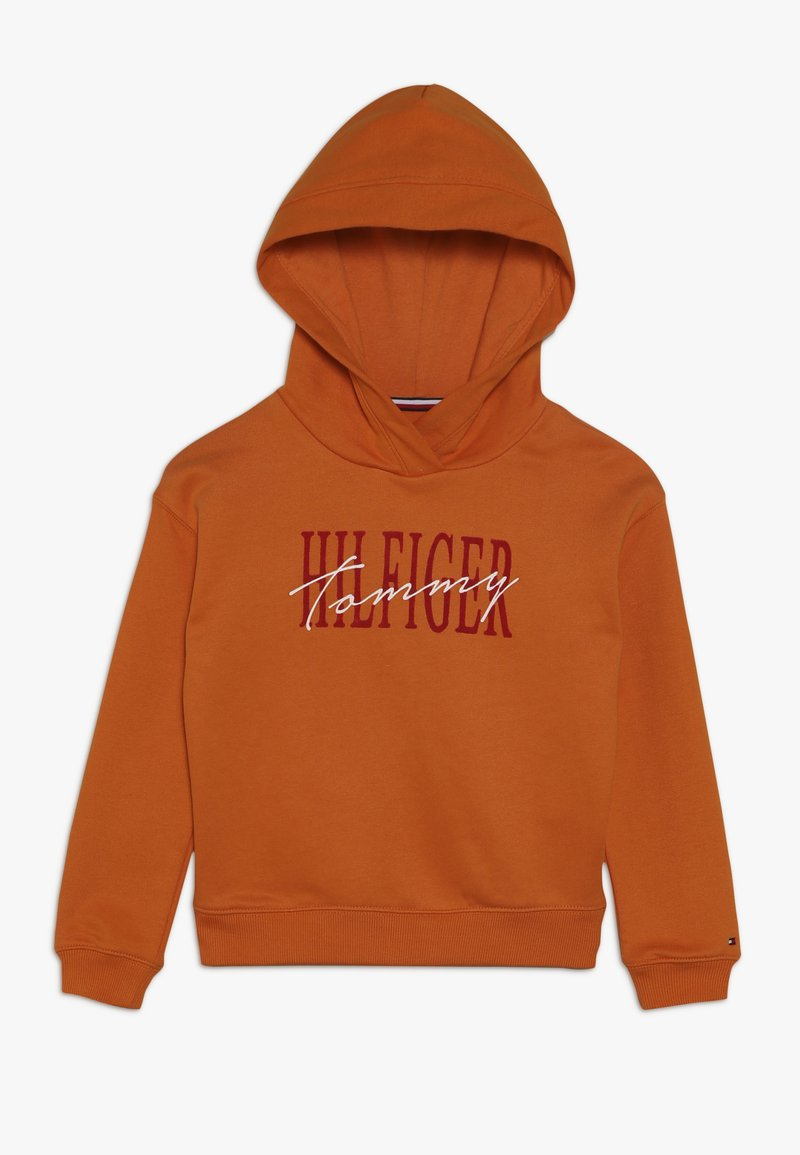 Tommy Hilfiger - ESSENTIAL GRAPHIC LOGO HOODIE - Sweat à capuche - orange